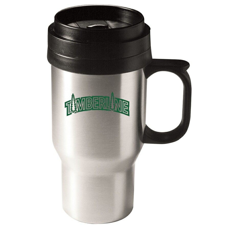 SSAM16 Stainless Steel 16 oz. Auto Mug With Plastic Liner